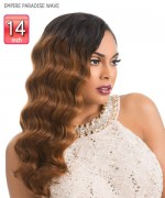 Sensationnel   Human Hair Weave Extention - EMPIRE PARADISE WAVE 14
