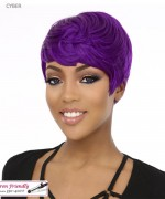 It's a wig Synthetic  Full Wig - CYBER