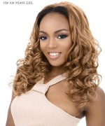 It's a wig Synthetic  Half Wig - HW AW MIAMI GIRL