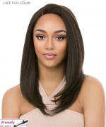 It's a wig Synthetic  Lace Front - LACE FULL SOLAR