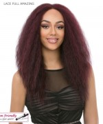 It's a wig Synthetic  Lace Front - LACE FULL AMAZING