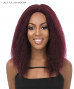 It's a wig Human Hair  Lace Front - LACE FULL HH MOCHA