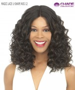 New Born Free Synthetic Lace Front Wig - MAGIC LACE U-SHAPE WIG 12 (with Silk Base)