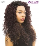 New Born Free Synthetic Lace Front Wig - SLIM LINE LACE PART WIG SLW24
