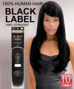 New Born Free Weave extention - Brazilian Black Label Human Hair 10