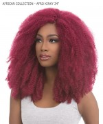 Sensationnel  Synthetic Braid - AFRICAN COLLECTION - AFRO KINKY 24