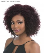 Sensationnel   Human Hair Weave Extention - EMPIRE CORK SCREW 10S 3PCS