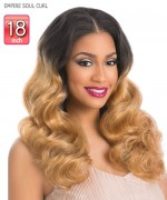 Sensationnel   Human Hair Weave Extention - EMPIRE SOUL CURL 18