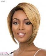 It's a wig Synthetic Full Wig - STORM