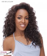 It's a wig Synthetic  Half Wig - HW AW LA GLAM