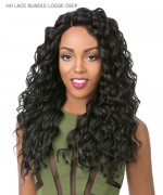 It's a wig Human Hair Blend  Lace Front - HH LACE BUNDLE LOOSE DEEP