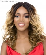 It's a wig Synthetic  Lace Front - SWISS LACE WINDLESS