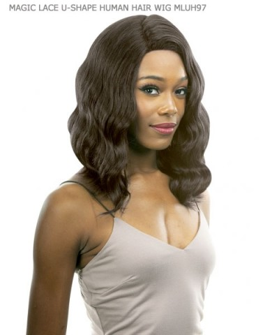 New Born Free Lace Front Wig - MAGIC LACE U-SHAPE HUMAN HAIR WIG MLUH97