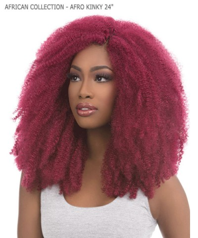 Sensationnel  Synthetic Braid - AFRICAN COLLECTION - AFRO KINKY 24""