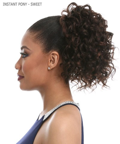 Sensationnel  Synthetic Ponytail - INSTANT PONY  -  SWEET