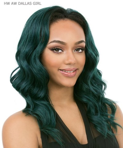 It's a wig Synthetic Half Wig - HW AW DALLAS GIRL