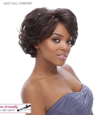 It's a wig Synthetic  Lace Front - LACE FULL COMFORT