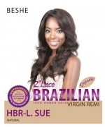 Beshe  Human Hair Lace Front Wig - 100% Virgin Remi HBR-L.SUE