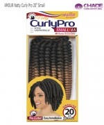 New Born Free Small Synthetic Braid- AMOUR Natty Curly Pro 20
