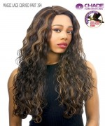 New Born Free Synthetic Lace Front Wig- MAGIC LACE CURVED PART MLC194