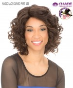 New Born Free Synthetic Lace Front Wig - MAGIC LACE CURVED PART MLC196