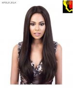 Motown Tress HPSLK.SILK - 100% Persian Unprocessed Remi Human Hair Lace Front Wig