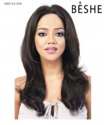 Beshe  Lace Front Wig - 100% Virgin Remi Silk 13x3  HBR-S3.DIA