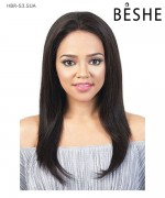 Beshe  Lace Front Wig - 100% Virgin Remi Silk 13x3  HBR-S3.SUA