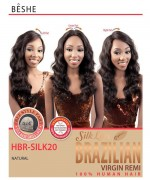 Beshe Lace Front Wig - 100% Virgin Remi Silk  HBR-SILK20