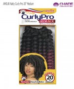 New Born Free Medium Synthetic Braid - AMOUR Natty Curly Pro 20