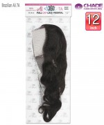 New Born Free Weave extention  - Brazilian Black Label 360 Frontal Body Wave  Remi Human Hair