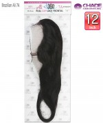 New Born Free Weave extention  - Brazilian Black Label 360 Frontal Straight  Remi Human Hair