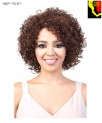 Motown Tress  HBR-TORY - 100% Brazilian Unprocessed Human Hair  Full Wig