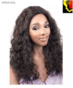 Motown Tress HPSLK.SOL - 100% Persian Unprocessed Remi Human Hair Lace Front Wig