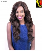 Motown Tress SL.NARA - Synthetic HITEMP SWISS SILK Lace Front Wig