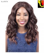 Motown Tress  SL. KRITA - Synthetic HITEMP SWISS SILK Lace Front Wig