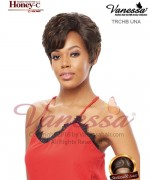 Vanessa TRCHB UNA - Human Hair Blend HONEY-C Lace Front Wig