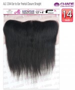 NEW BORN FREE Remi Human Hair Piece - ALI 13X4 Ear to Ear Frontal Closure Straight 14""