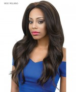 Diana Deep Part Synthetic Lace Front Wig - DPL MILANO
