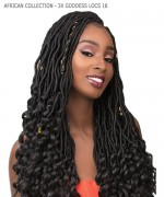 Sensationnel  Synthetic Hair Piece - AFRICAN COLLECTION - 3X GODDESS LOCS 18
