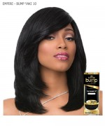 Sensationnel  Human Hair Weave Extension - EMPIRE - BUMP YAKI 10""