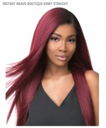 Sensationnel  Synthetic Weave Extension - INSTANT WEAVE-BOUTIQUE KINKY STRAIGHT