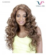 Vivica Fox  AL-MOESHA - Synthetic Invisible Side Part Lace Front Wig