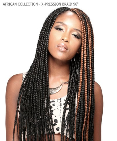 Sensationnel  Synthetic Hair Piece - AFRICAN COLLECTION - X-PRESSION BRAID 96