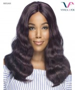 Vivica Fox  MIRIAM - Synthetic Invisible Center Part Lace Front Wig