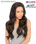 New Born Free Lace Front Wig - MLN42 MAGIC LACE NATURAL HAIRLINE 42 Synthetic Lace Front Wig