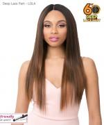 It's a wig 6 INCH DEEP LACE PART WIG - LOLA
