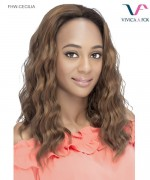 Vivica Fox FHW-CECILIA - Synthetic Express Wig Half Wig