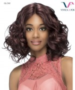 Vivica Fox GLOW - Synthetic Invisible Center Part Lace Front Wig
