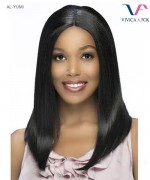 Vivica Fox  AL-YUMI - Synthetic Invisible Center Part Lace Front Wig